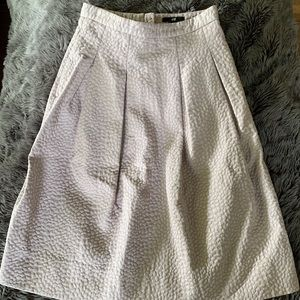 Midi pleated H&M skirt